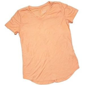 TEK GEAR dry tek orange palm athletic top